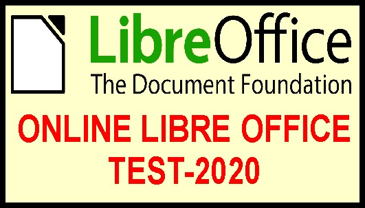 Libre Office Online Test 2020