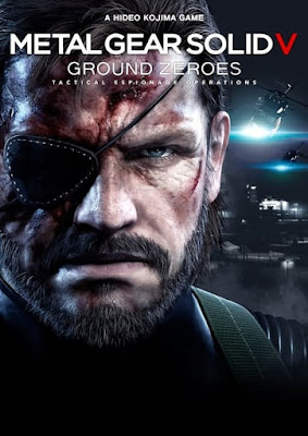 Capa do Metal Gear Solid V: Ground Zeroes