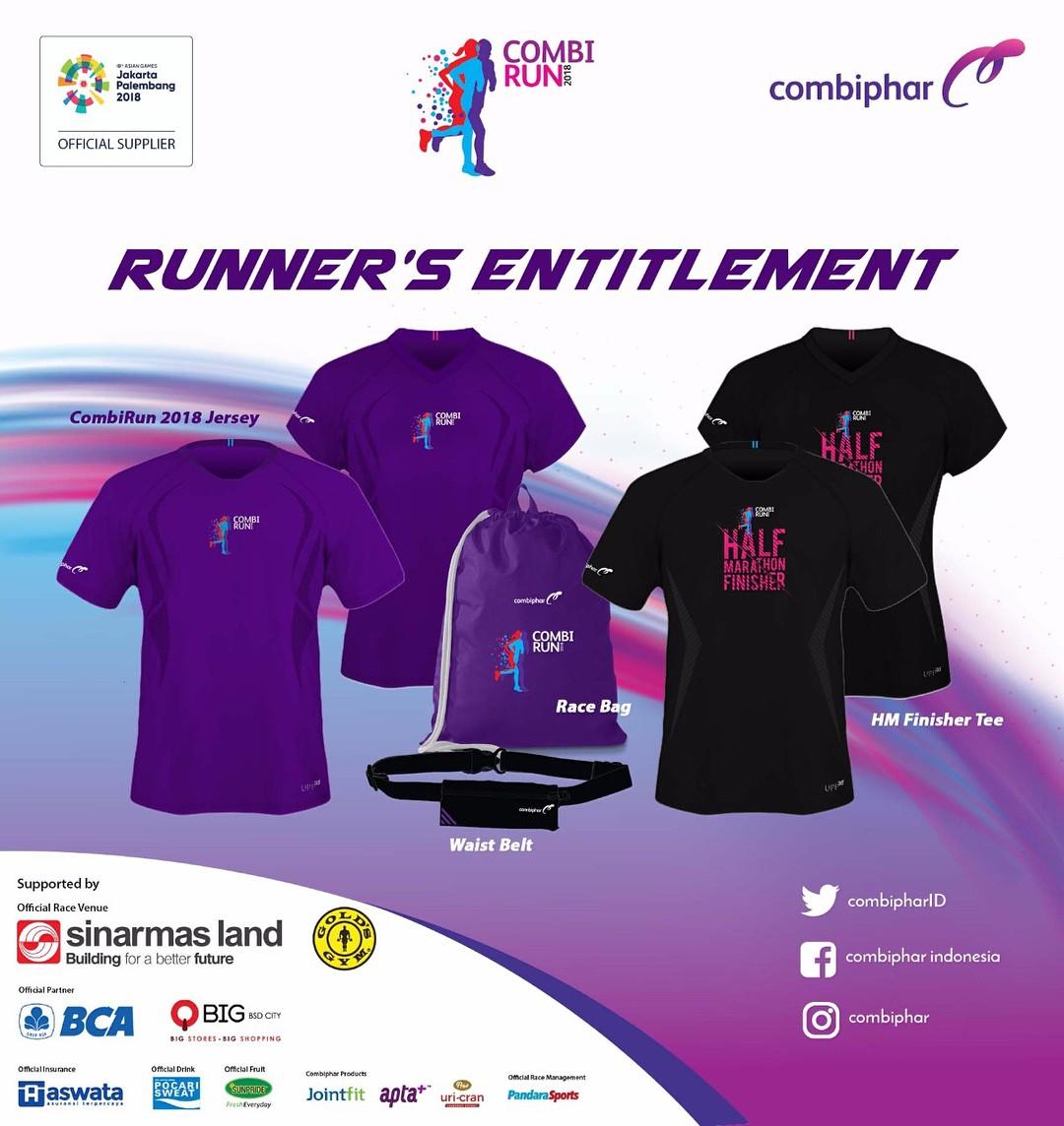 Jersey 👕 Combi Run • 2018