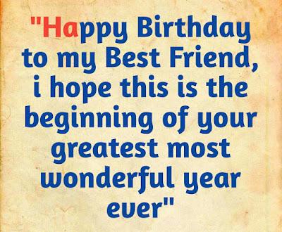 happy birthday best friend msg bahasa indonesia