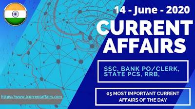 14th-June-2020-Current-Affairs