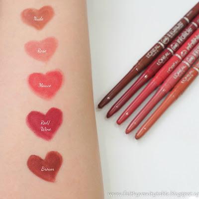 L'Oréal Paris Makeup Designer Infallible Le Rouge, Lip Liner, Makeup Brushes Review and Demo