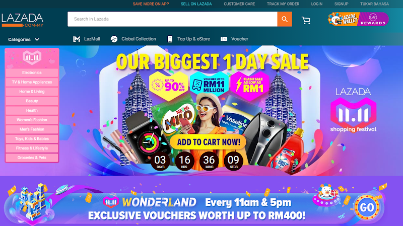 Lazada 11.11 Blogger Contest: Unboxing Time
