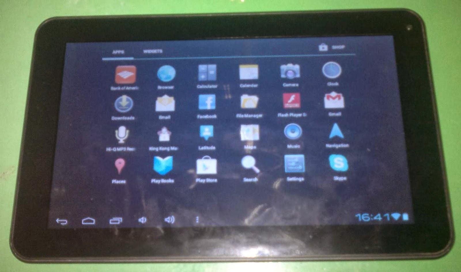 Tablet iview 900tpcii firmware