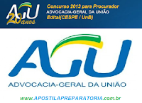 Concurso da Advocacia-Geral da União (AGU)