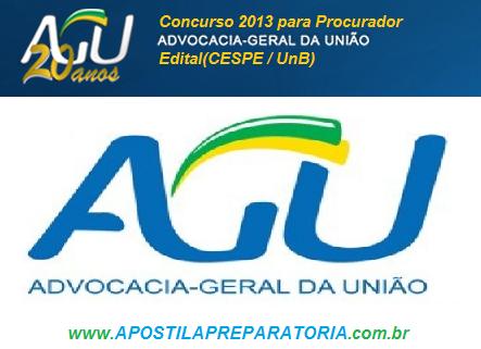 Concurso AGU (Advocacia-Geral da União)