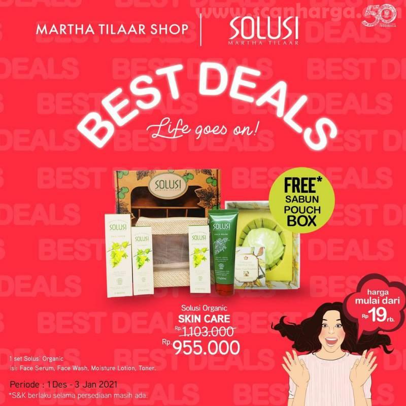 Promo Martha Tilaar Shop ✓Best Deals Package Harga mulai dari Rp 19.000