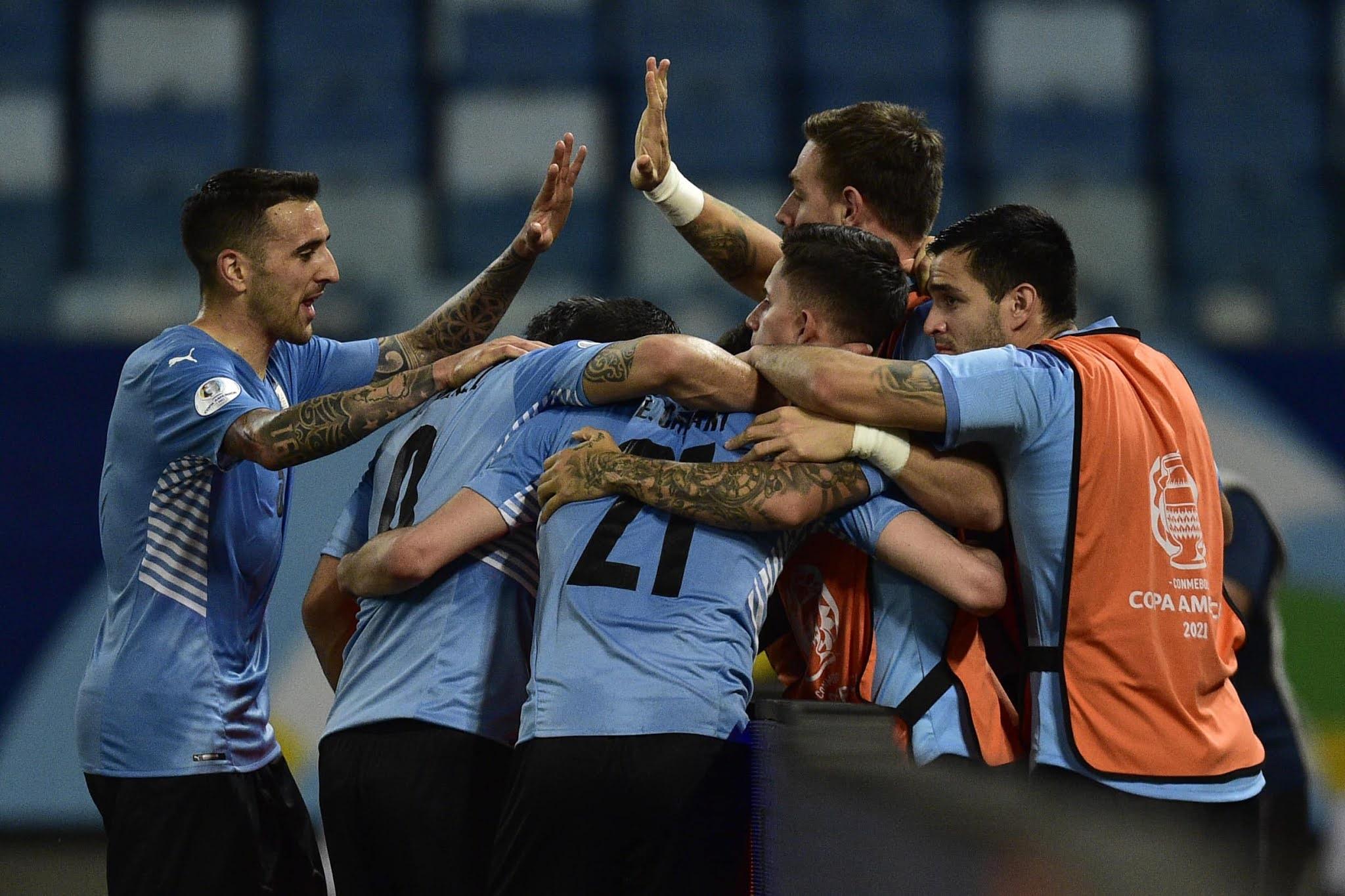 Uruguay clasificó a cuartos de final de la Copa América al superar a Bolivia