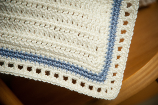Alexandra S Wishes Baby Crochet Blanket