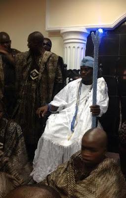 Oba Adeyeye Enitan Babatunde Ogunwusi visits alake