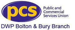 PCS DWP Bolton and Bury Branch