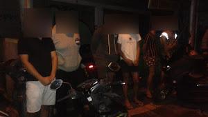 Di Tengah Pandemi Covid 19, Aparat Desa Padangsambian Klod Amankan Pelaku Trek - Trekan.