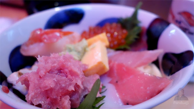 Sashimi di Tsukiji Fish Market