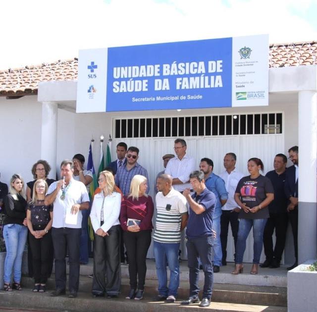Cidade Ocidental: Prefeito Fábio Correa entrega UBS da SQ 19