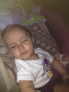 Hijo durmiendose