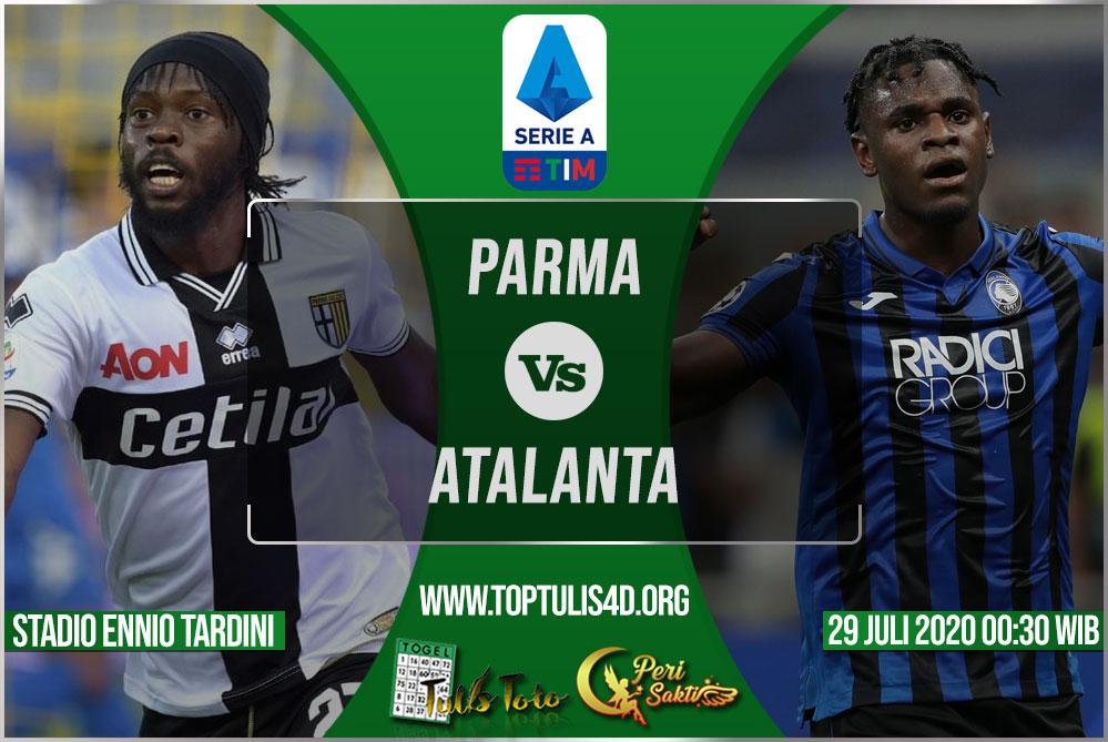 Prediksi Parma vs Atalanta 29 Juli 2020