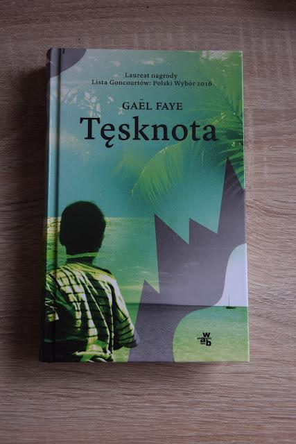 """Recenzje #17 - """"Tęsknota"""" - okładka książki pt.""""Tęsknota"""""""
