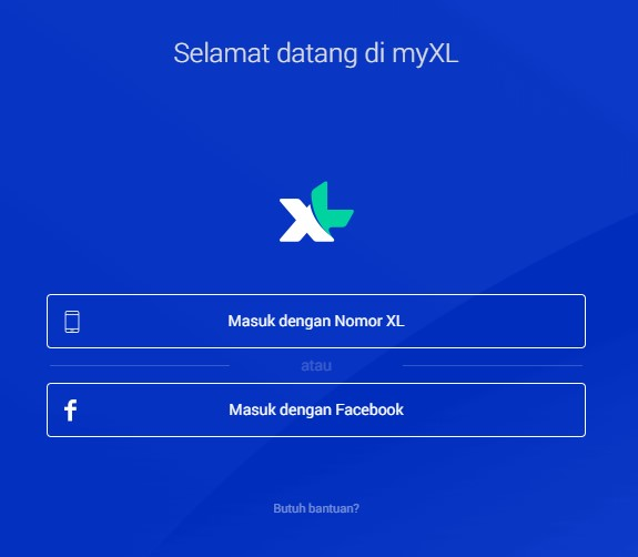 login MY XL via browser