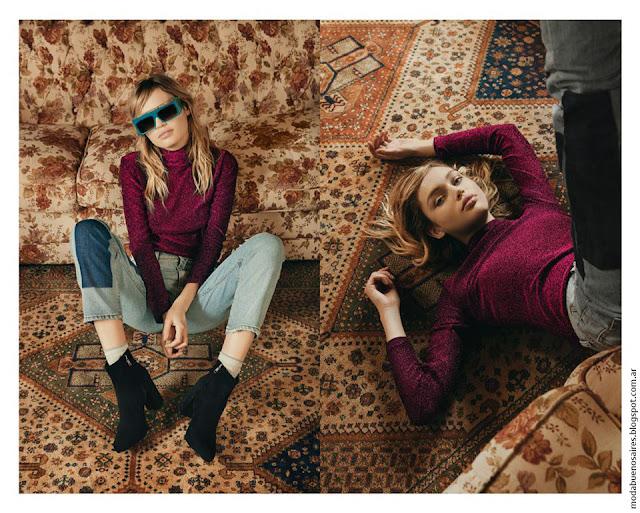Moda otoño invierno 2016 Complot. Pantalones de jeans otoño invierno 2016.