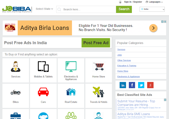 Free Ad Posting Sites in India Without Registration