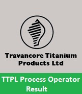TTPL Process Operator Result