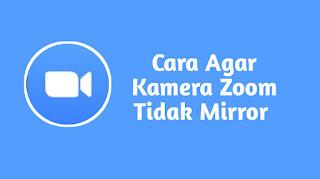 Cara Agar Kamera Zoom Tidak Mirror di HP