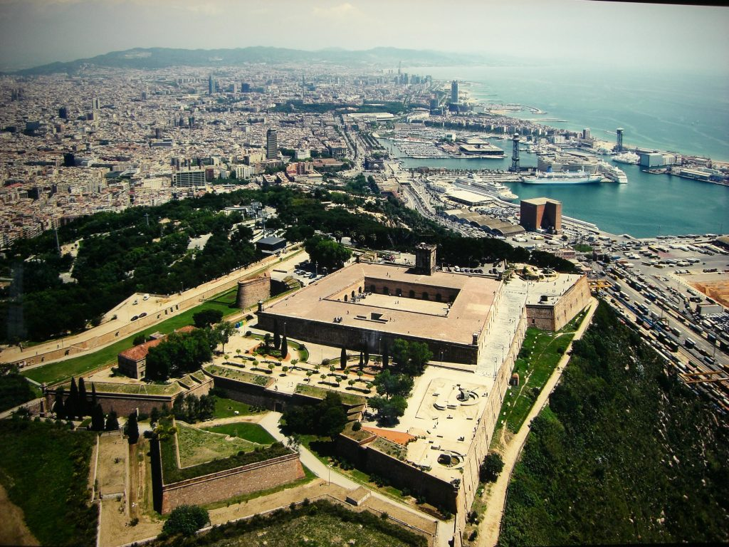 BARCELONA: CASTLE OF MONTJUÏC ~ Beautiful places of