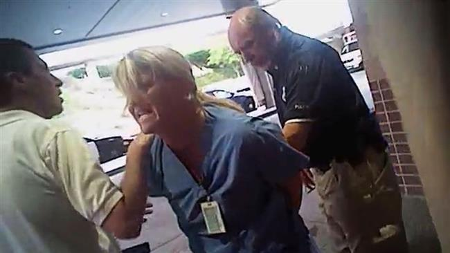 Utah nurse arrested for not giving police patient blood sample