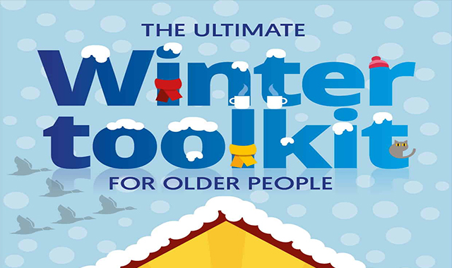 The ultimate winter toolkit for elderly people #infographic