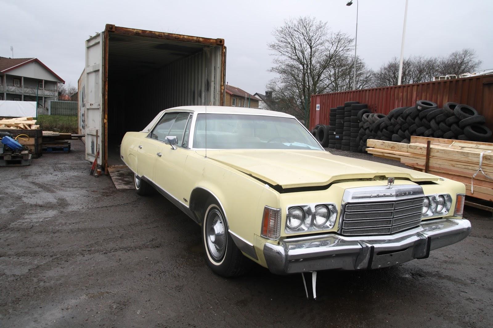 #837848 Dette års VÄLKOMMEN TILL SÖREN FJELLSTEDT: Chrysler New Yorker Four Door Hardtop Brough  Gør Det Selv New Yorker Væg 5801 160010665801