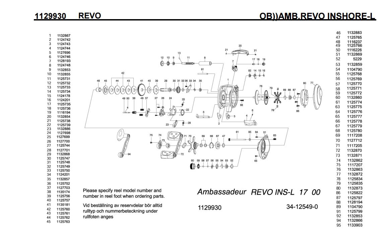 Abu Garcia Reel Parts Diagram   Atkinsjewelry on