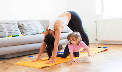 Best Home Exercises for Busy Moms
