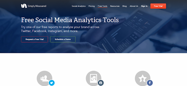 Simply Measured - Free Marketing Reports Tool