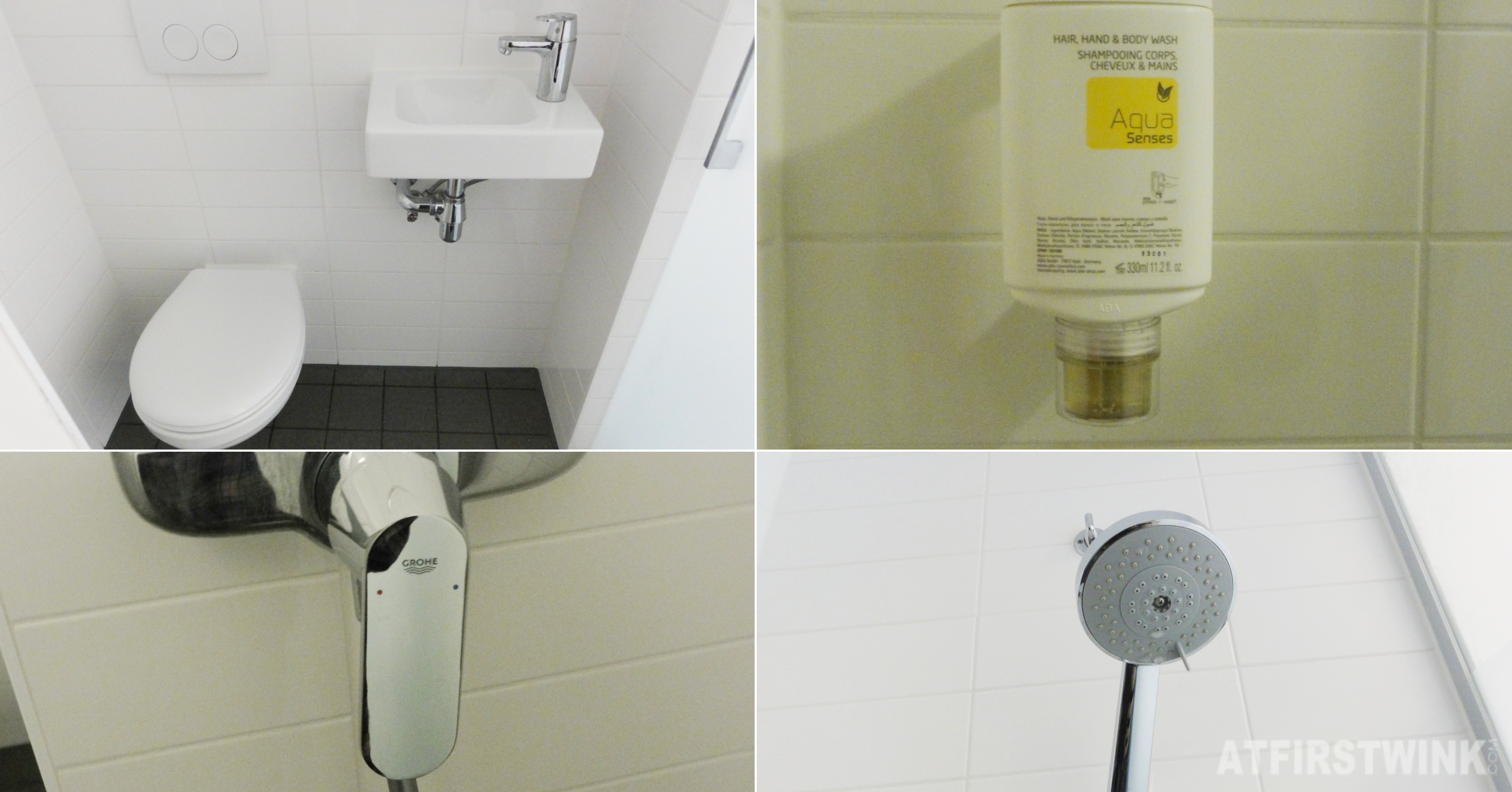 EasyHotel Rotterdam City center bathroom toilet shower