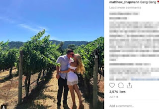 Chapman And His Girlfriend Awesome Couple