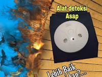 Alat Deteksi Asap Kebakaran Gedung Portable Tanpa Instalasi