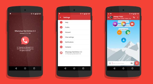 تنزيل تطبيق الواتس الاحمر 2021 WhatsApp Plus Red النسخة الاصلية