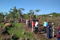 Peduli Lingkungan, PMII Lombok Timur Gelar Penghijauan di Jeringo.