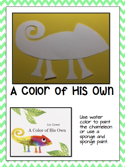 leo lionni and a giveaway - A Color Of His Own Book