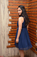 Radhika Mehrotra in a Deep neck Sleeveless Blue Dress at Mirchi Music Awards South 2017 ~  Exclusive Celebrities Galleries 100.jpg