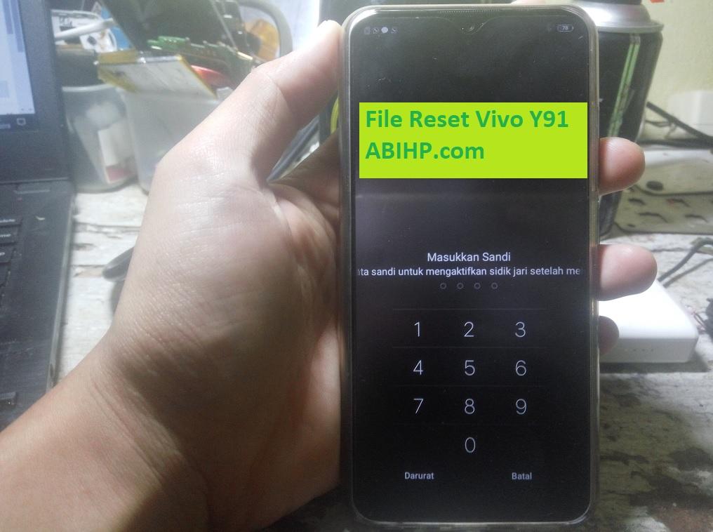File Reset Vivo Y91