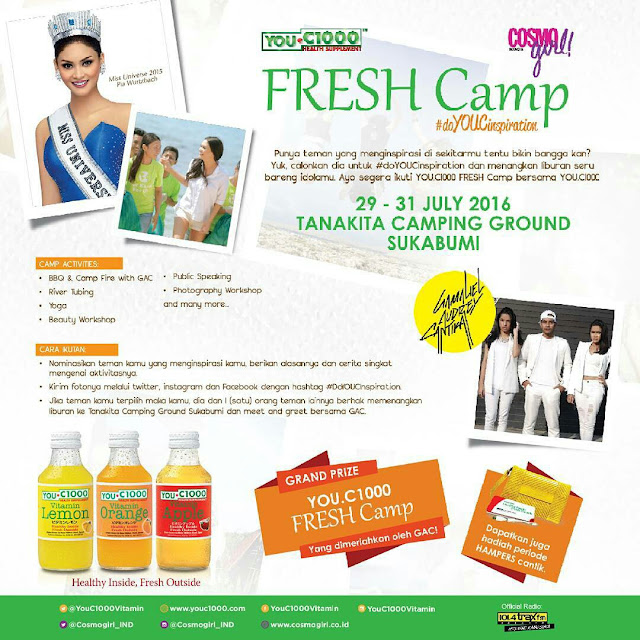 YOU C 1000 FRESH CAMP 2016