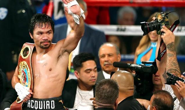 """Manny Pacquiao se aposenta após 26 anos no boxe e exalta Deus: """"Sem Ele, não sou nada"""""""