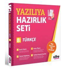 Şifre Yayınları 8.Sınıf Türkçe Yazılıya Hazırlık Seti