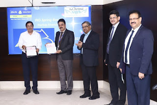 Indian Bank partnered with Chennai Angels