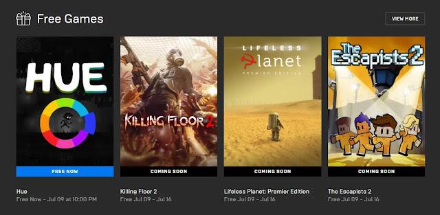 Masa Berlaku Klaim Game Hue Gratis di Epic Games Store