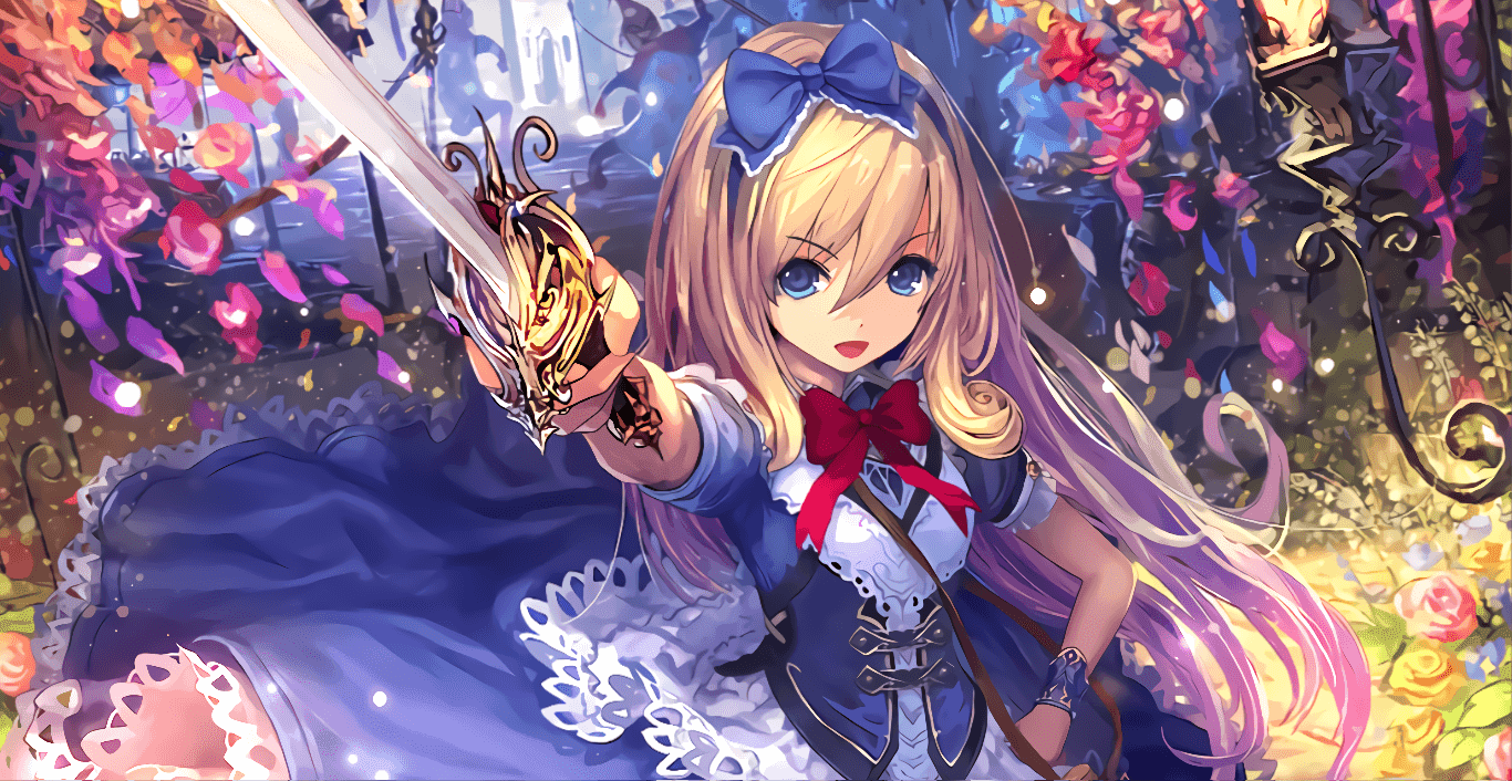 Alice, Wonderland Explorer - Shadowverse [Wallpaper Engine Anime]