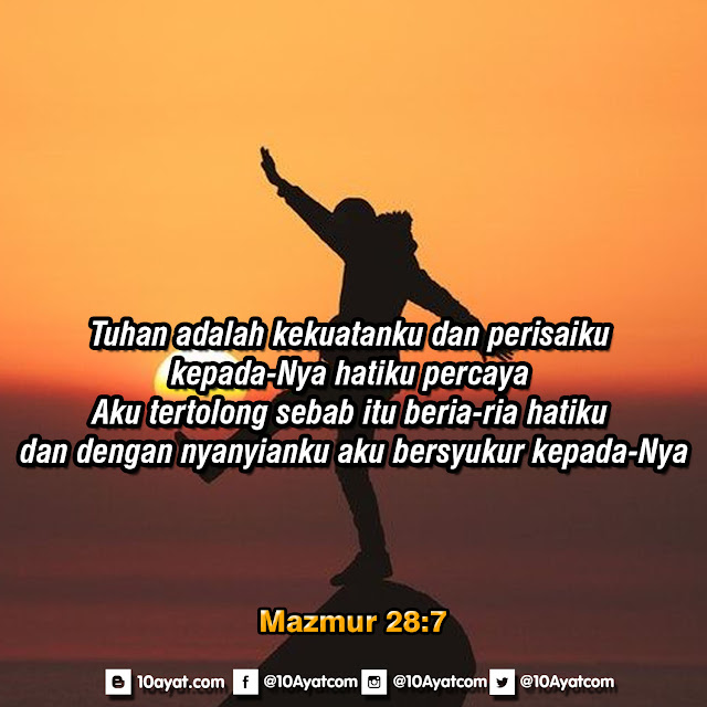 Mazmur 28:7