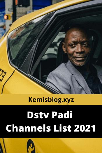 Dstv Padi Channels 2021