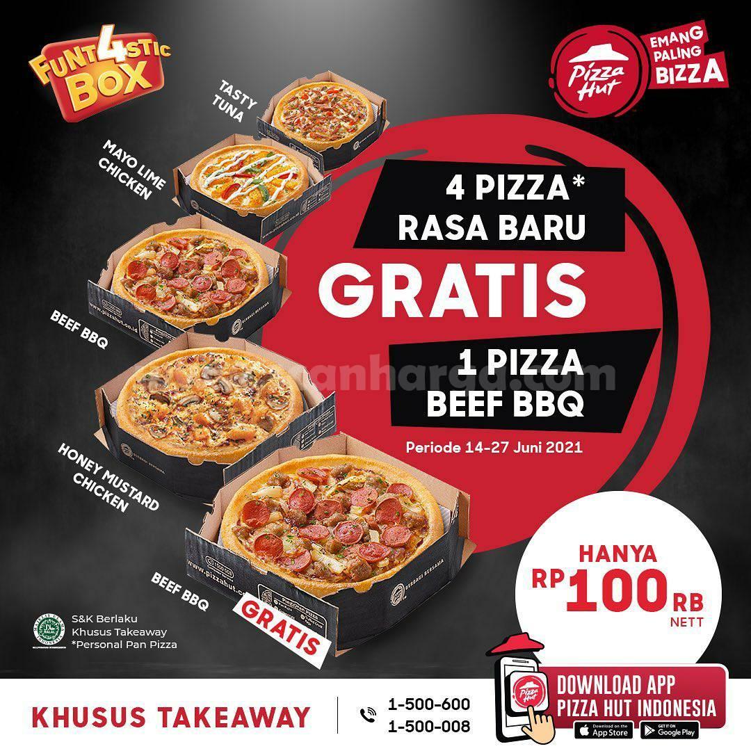 Promo PIZZA HUT Terbaru Periode 14 - 27 Juni 2021